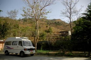 Stopping by the Woods: The Tour Bus on the Bhimtal Road